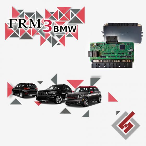 Ремонт на FRM 3 модул BMW