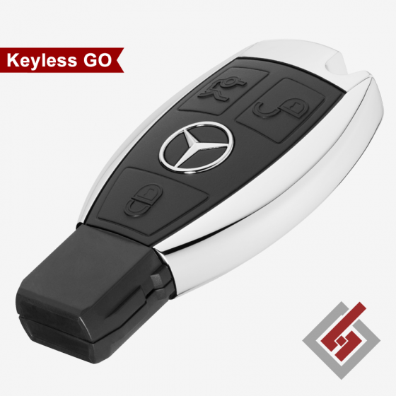 Key for Mercedes Keyless GO