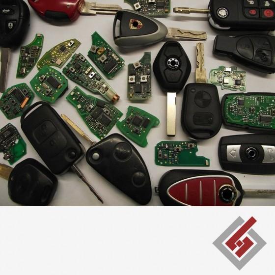 Ремонт на ключове и дистанционни за автомобили